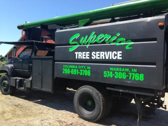 Superior Tree Service - Vehicle & Fleet LetteringSuperior Tree Service - Vehicle & Fleet Lettering