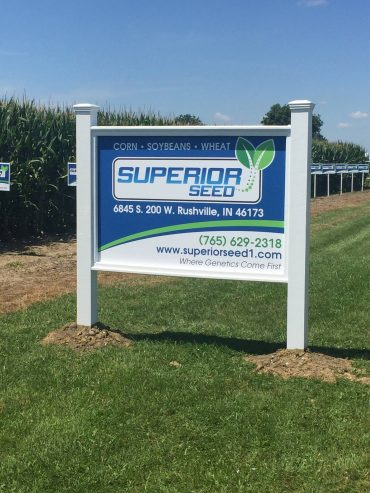 Superior Seed - Outdoor Sign