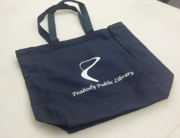 Peabody Public Library - Handbag, Screen Print, Promotional Items