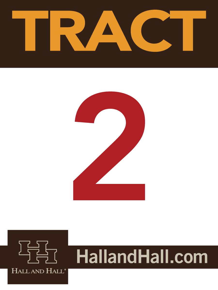 Tract sign for Hall and Hall - 2