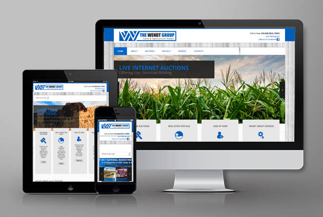 The Wendt Group | Website Case Study