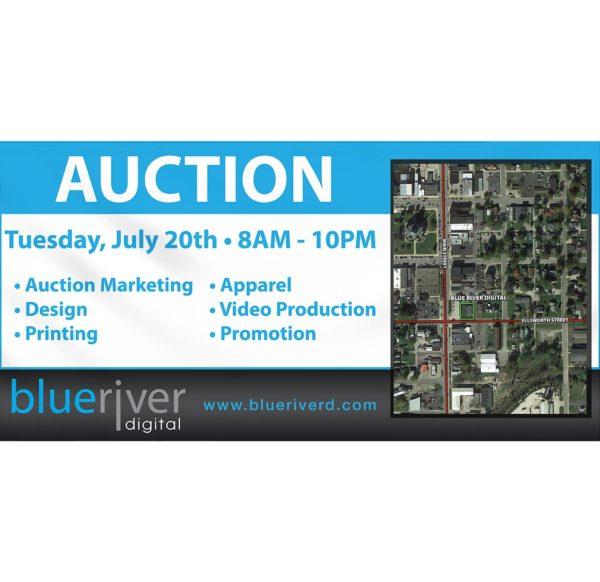 Auction 3 x 6 banner