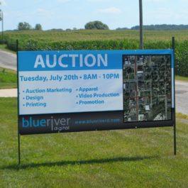 Auction 4 x 8 banner