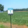 Tract foldover sign