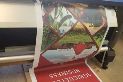 Printing a rollup banner